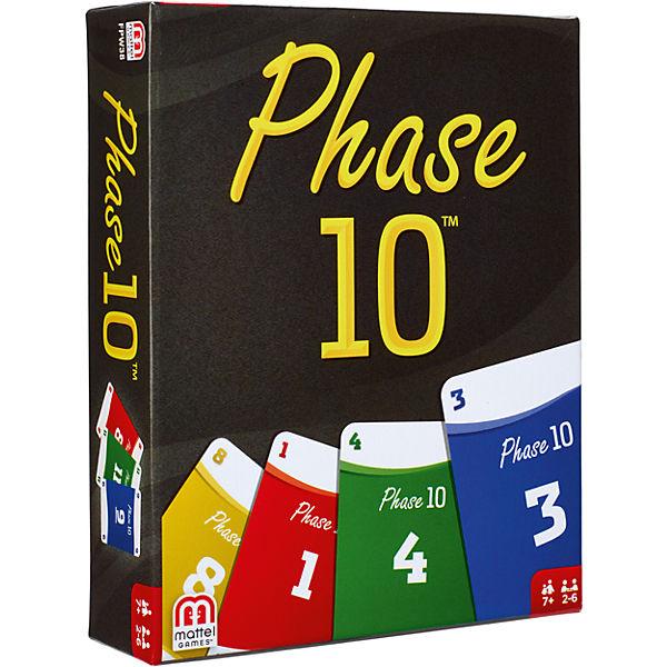 Phase 10 - Neu / Kartenspiele (Mattel) - Spielladen