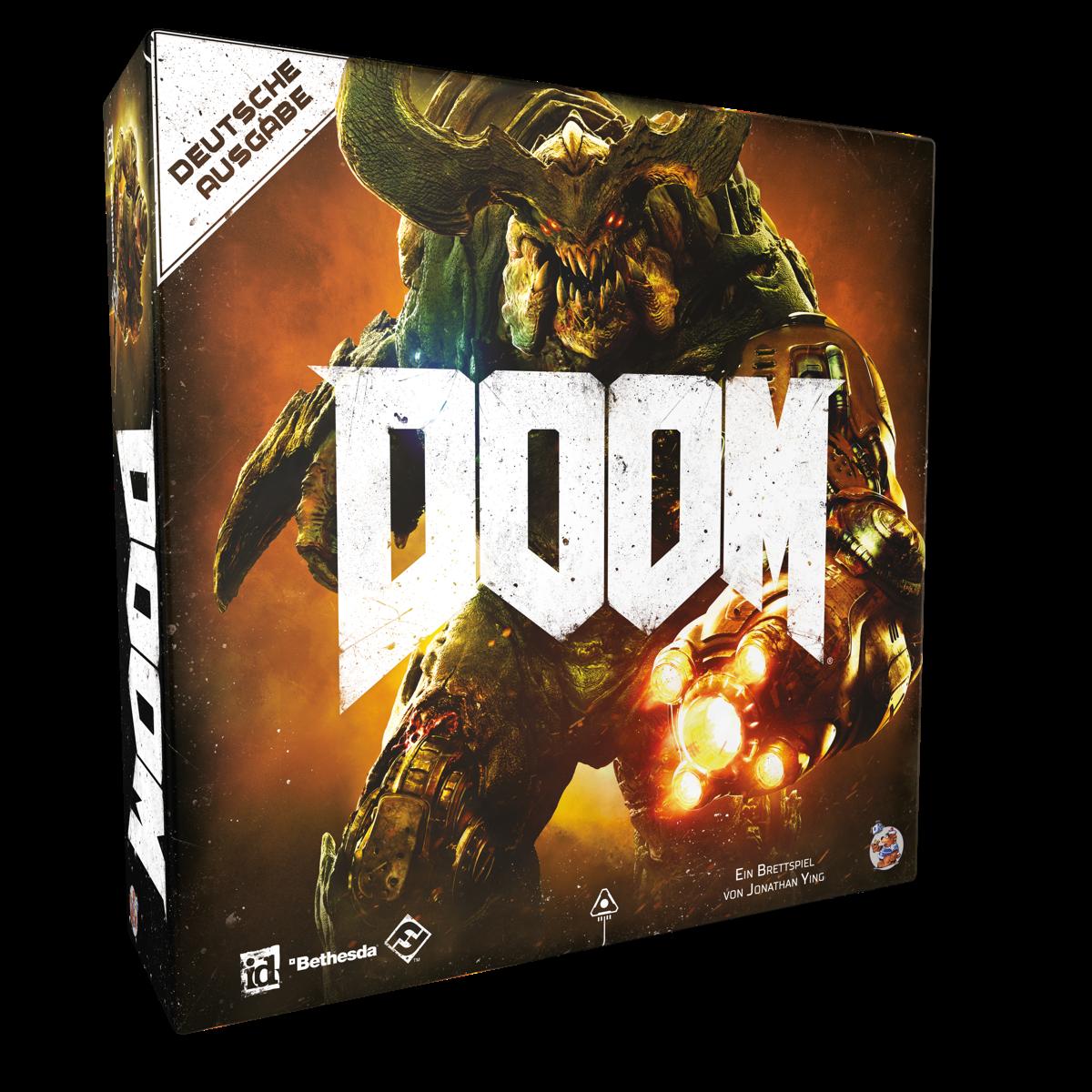 Doom - das Brettspiel (deu) Neuauflage / Strategiespiele / Fantasy ...