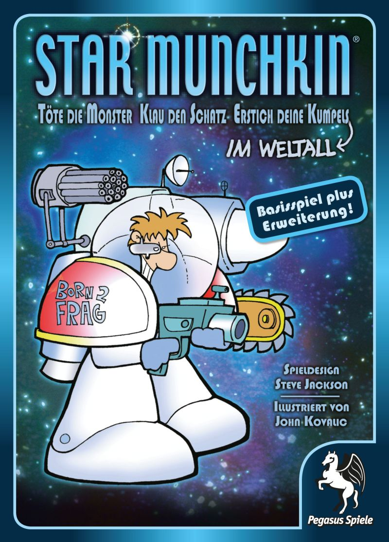 Star Munchkin 1+2 / Munchkin (Pegasus Spiele) - Spielladen Spielbude.ch