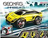 GEOMAG - Wheels Flexform Super Car 20 Teile