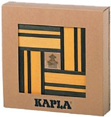 KAPLA Color olive-gelb mit Buch
