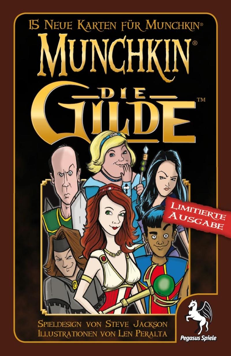Munchkin Booster - Die Gilde / Munchkin (Pegasus Spiele ...