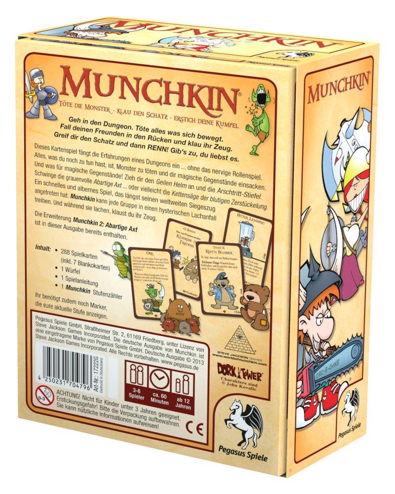 Munchkin 1+2 / Munchkin (Pegasus Spiele) - Spielladen Spielbude.ch