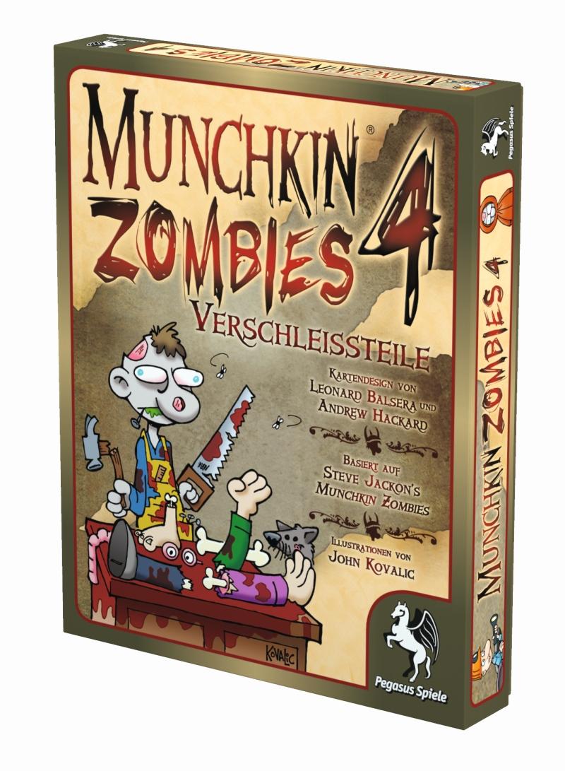Munchkin Zombies 4: Verschleißteile / Munchkin (Pegasus Spiele ...