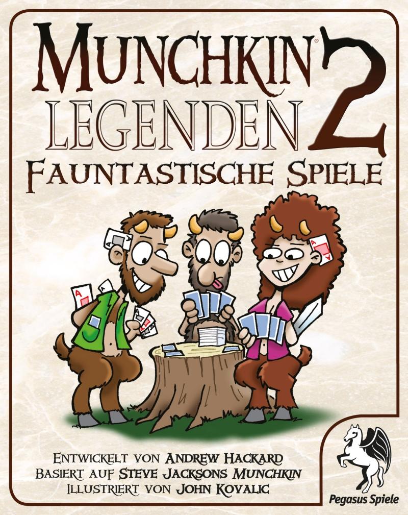 Munchkin Legenden 2: Fauntastische Spiele / Munchkin (Pegasus Spiele ...