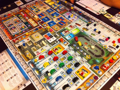 Kanban Automotive Revolution Stronghold Games