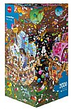 The Kiss (Mordillo) - Triang.Puzzle 2000 Teile -