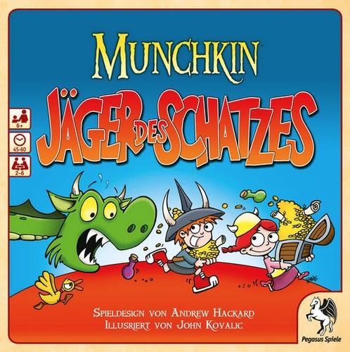 Munchkin - Jäger des Schatzes / Kinderspiele (Pegasus Spiele ...