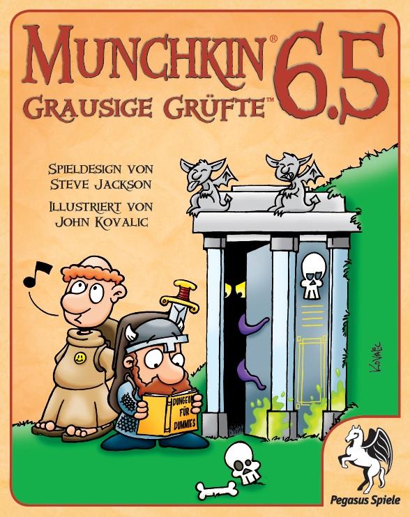 Munchkin 6.5: Grausige Grüfte / Munchkin (Pegasus Spiele ...