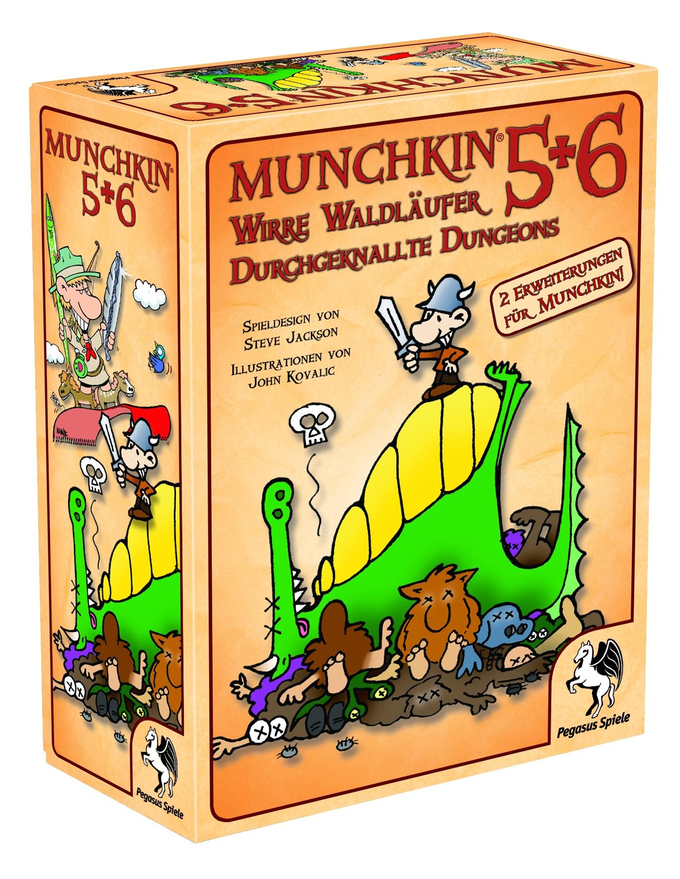 Munchkin 5+6+6.5 / Munchkin (Pegasus Spiele) - Spielladen Spielbude.ch