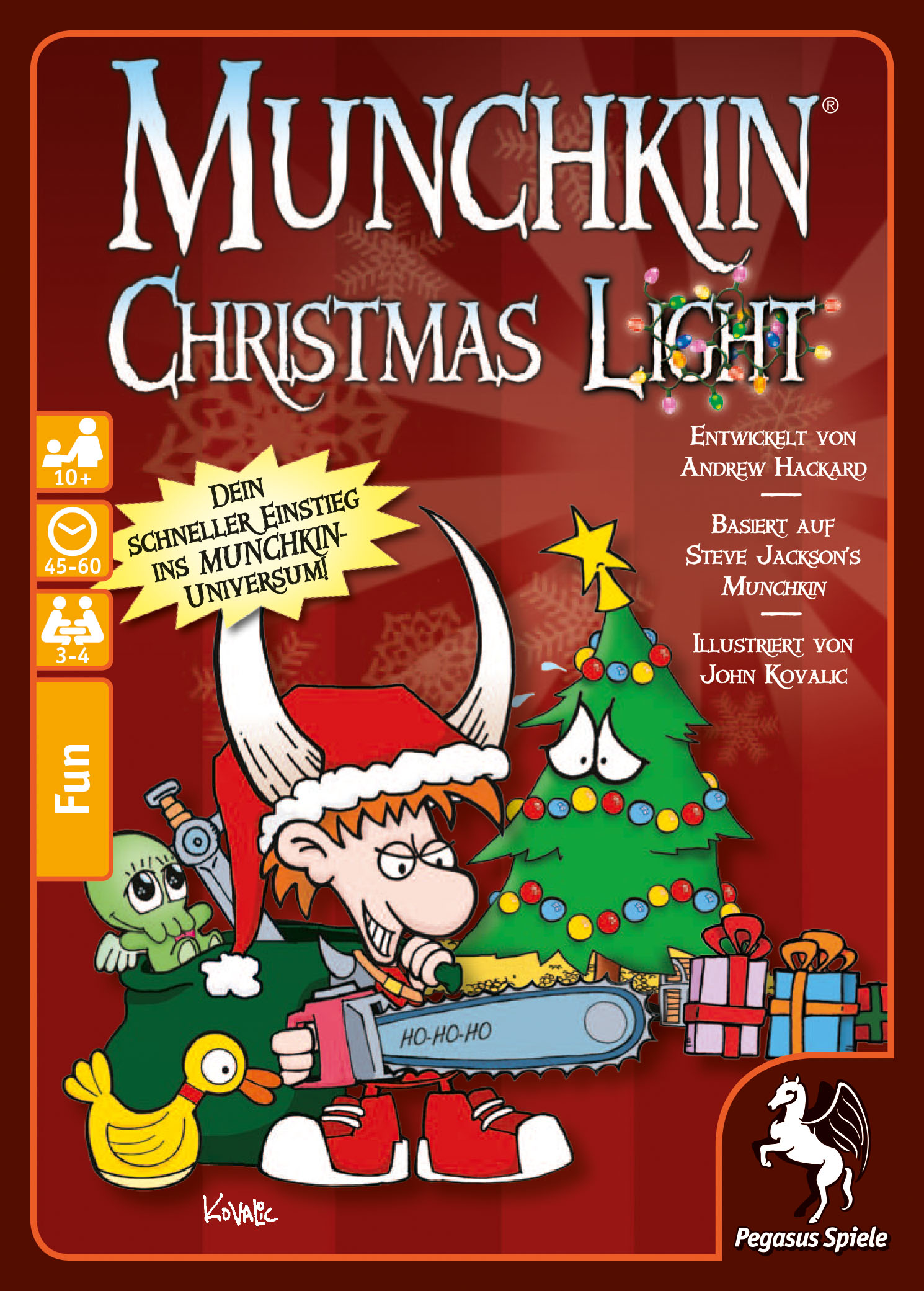 Munchkin Christmas Light (deutsche Ausgabe) / Munchkin (Pegasus ...