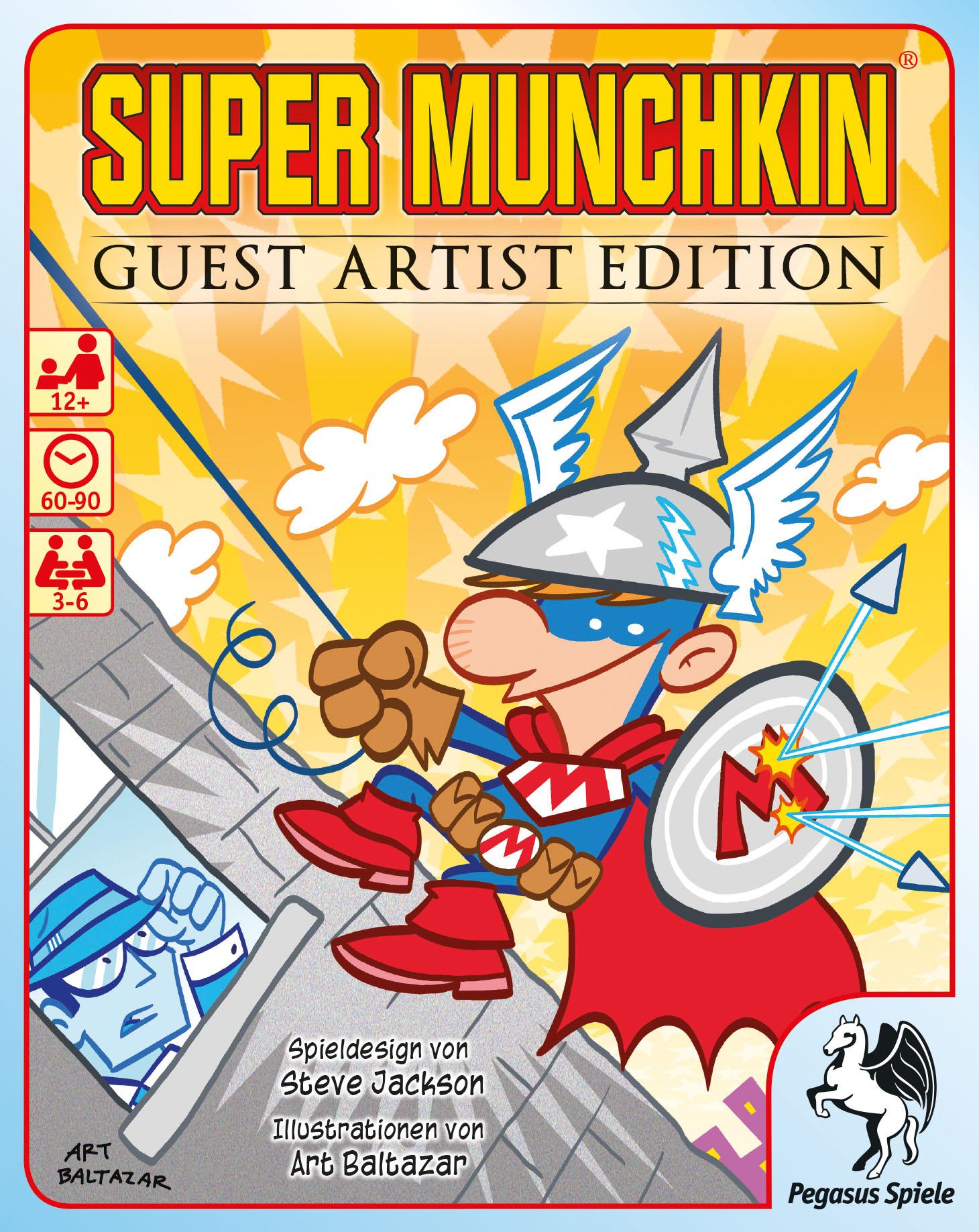 Super Munchkin Guest Artist Edition Art Baltazar-Version / Munchkin ...