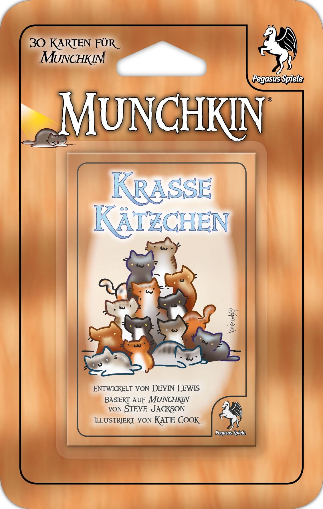 Munchkin Booster: Krasse Kätzchen / Munchkin (Pegasus Spiele ...