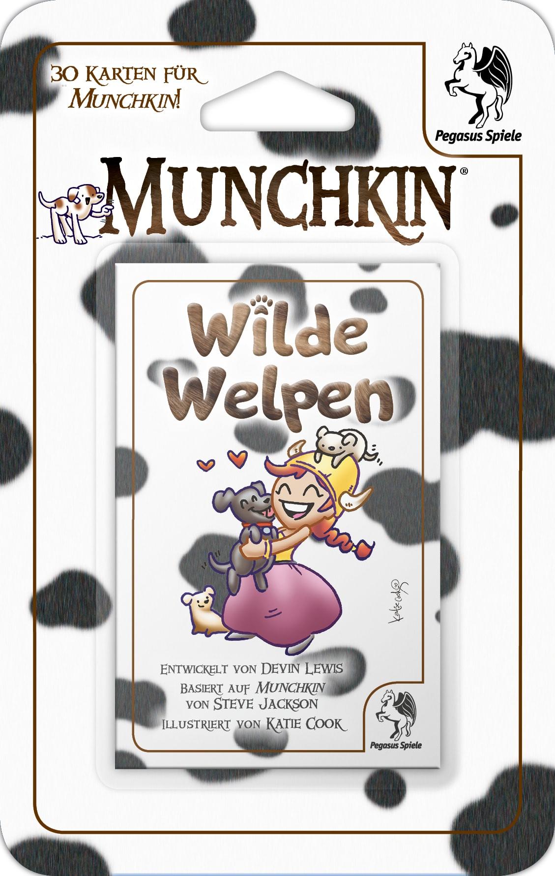 Munchkin Booster: Wilde Welpen / Munchkin (Pegasus Spiele ...