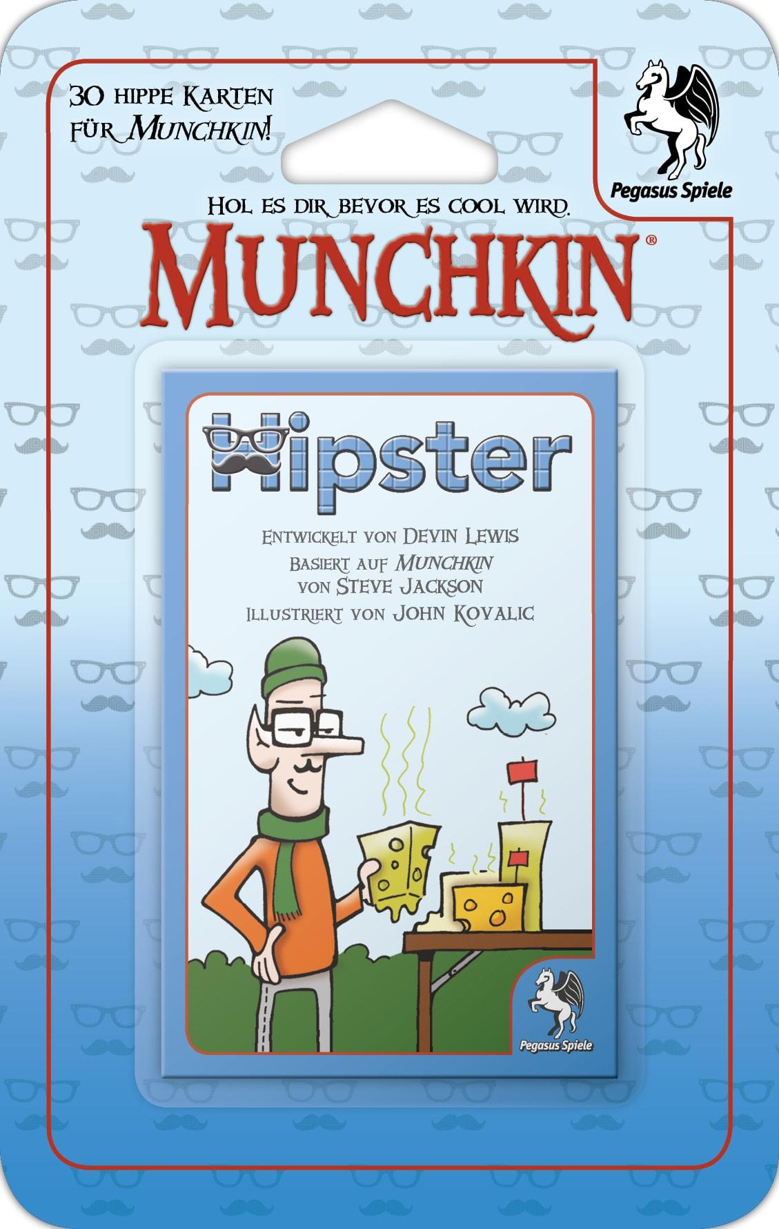 Munchkin Booster: Hipster / Munchkin (Pegasus Spiele) - Spielladen ...