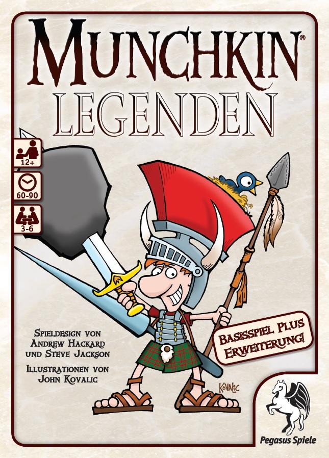 Munchkin Legenden 1+2 / Munchkin (Pegasus Spiele) - Spielladen ...