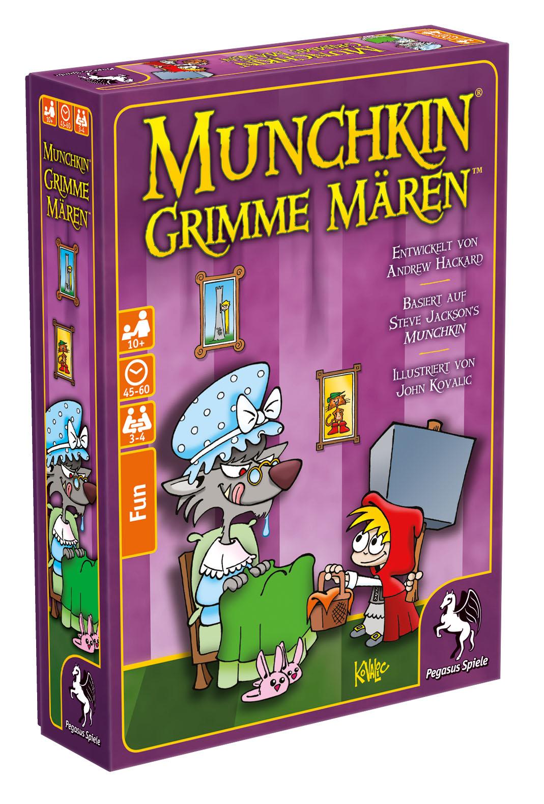 Munchkin: Grimme Mären / Munchkin (Pegasus Spiele) - Spielladen ...