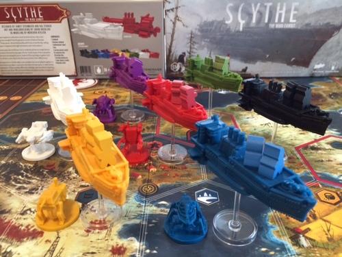 Feuerland Spiele Scythe Kolosse der L/üfte 12