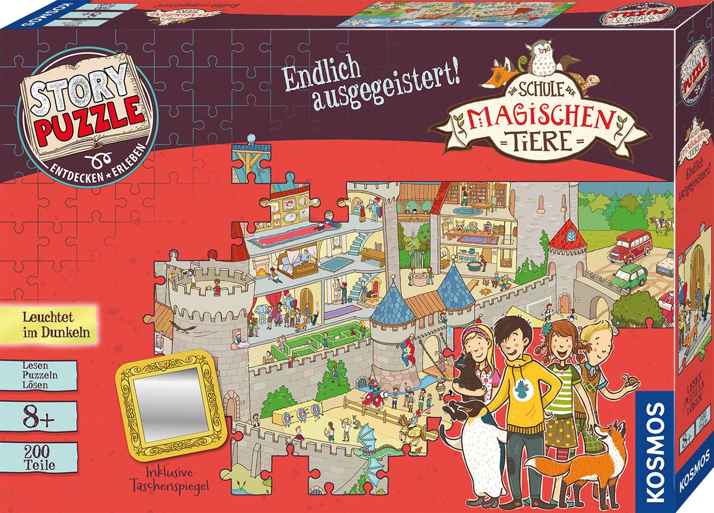 story puzzle die schule der magischen tiere  endlich